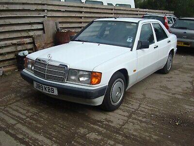 Mercedes 190e 5 speed 1,8i 88343 miles 1991