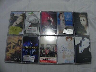 Celine Dion - Lot Of 10 Korea Cassette Tape / SEALED NEW