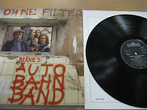 Bernie's Autobahn Band-Ohne Filter Vinyl