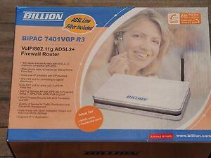 Billion BiPAC 7401VGP R3 ADSL Modem Router Melbourne CBD Melbourne City Preview
