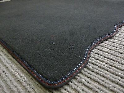 $$$ Original Lengenfelder Fußmatten passend für BMW Z1 Z 1 Rand Kunstleder ROT