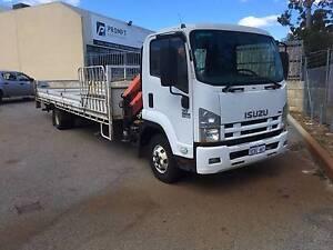 Isuzu FRR500 XL Crane Truck Landsdale Wanneroo Area Preview