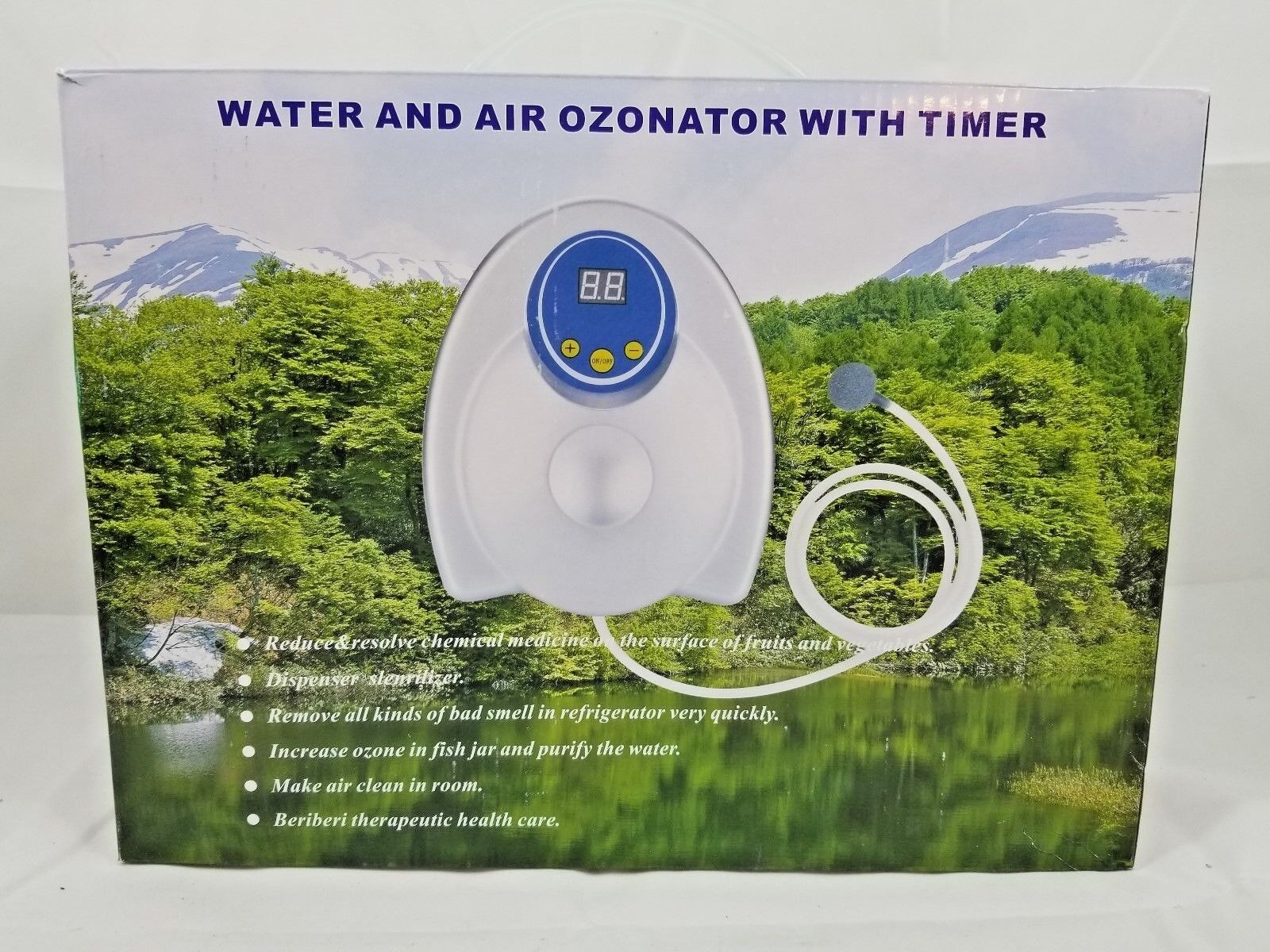 Signstek Water and Air Ozonator with Timer GL-3188