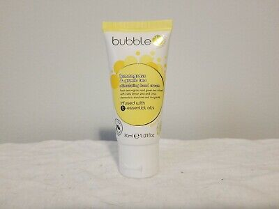 Bubble T Bath & Body Lemongrass and Green Tea Stimulating Hand Cream 1 oz. - Lemongrass Bubble Bath