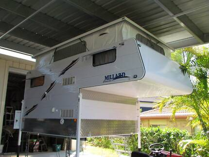 Millard Slide-on Poptop Ute back Camper Calamvale Brisbane South West Preview