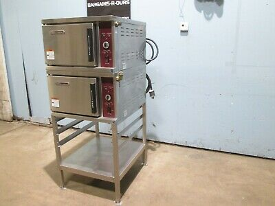 Southbend Hd Commercial Nsf Dbl Stacked 250v 3 Electric Steamer Ovens
