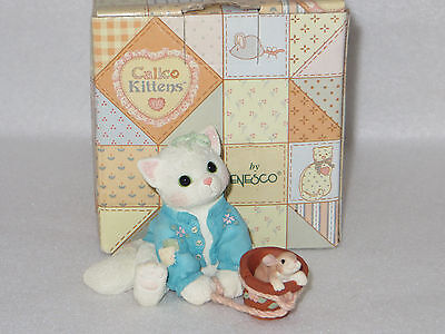 """SOME BUNNY TO LOVE YOU""  ENESCO CALICO KITTENS  #295590 - MIB"