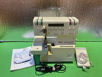 PFAFF Hobbylock 4860 Serger Sewing Machine, Manual, Foot Controller