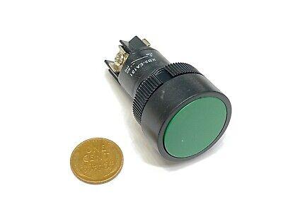 Green Push Button Switch No 22mm Cnc Round La38-11 Xb2-ea142 Momentary G2