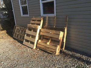 Wood pallets/skids