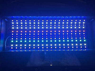 Full spectrum 45W LED retrofit upgrade - Nano Cube 12 gallon reef aquarium light