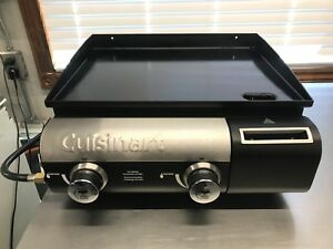 Propane cooking griddle