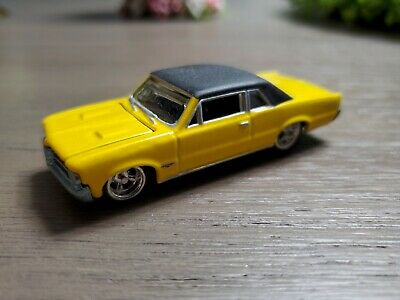 VTG Hot Wheels '62 Pontiac GTO (Yellow) (Loose But Clean!)