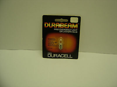 DURACELL DURABEAM PR32 EMERGENCY LIGHT OR LANTERN BULB FLANGE 4.8 V, 0.7 AMP NIB