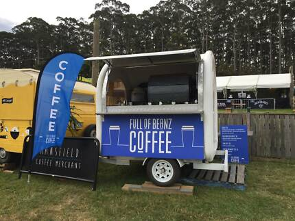 MOBILE CAFE COFFEE FOOD VAN BUSINESS FOR SALE