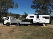 Off Road 5th Wheeler Van and The Truck Burnett Heads Bundaberg City Preview