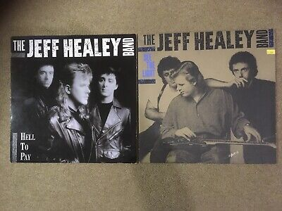 The Jeff Healey Band See The Light Hell To Pay Vinyl LPs