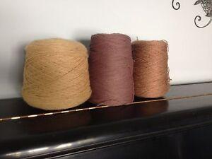 Lot of three huge skeins of yarn