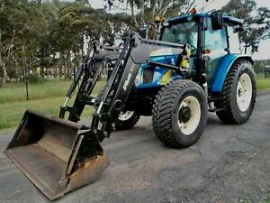 2010 New Holland T5050 4x4 95 hp Agricultural Farm Tractor