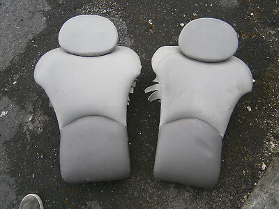 TVR Cerbera Seats - Rear with Headrests