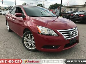 2013 Nissan Sentra SL | NAV | LEATHER | ROOF | HEATED SEATS