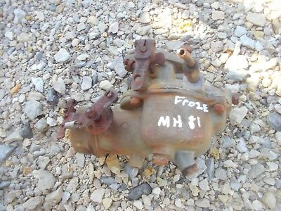 Massey Harris 81 Tractor Engine Motor Zenith Froze Up Carburetor Assembly Core