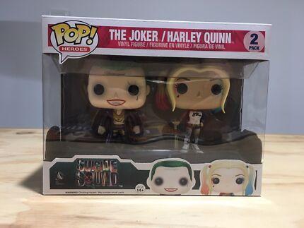 Joker Harley Quinn Pop Vinyl 2 pack