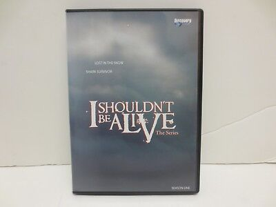 I Shouldn't Be Alive (DVD, 2007) Single Disc 2 Episodes ONLY Lost Snow Shark