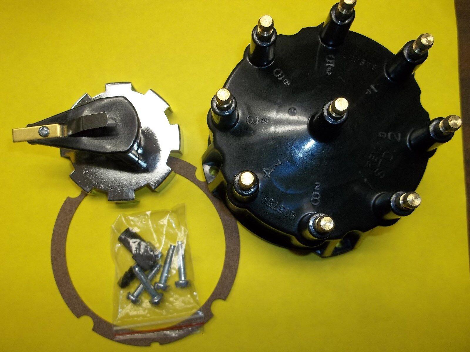 Mercruiser Thunderbolt V8 Tune Up Kit Distributor Cap Rotor and trigger wheel