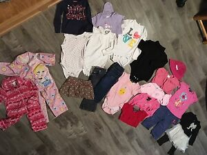18 - 24 months girls clothing lot