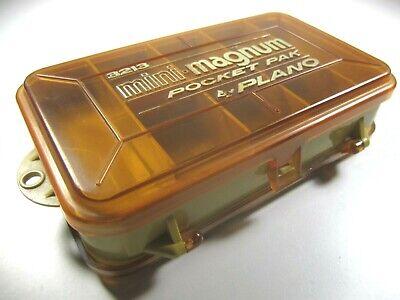 Plano 3213 Mini Magnum Pocket Pak 2 Sided Fishing Tackle Box
