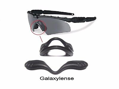 Used, Galaxy Nose Pads Rubber Kits For Oakley Si Ballistic M Frame 2.0 Z87 Black for sale  Shipping to India