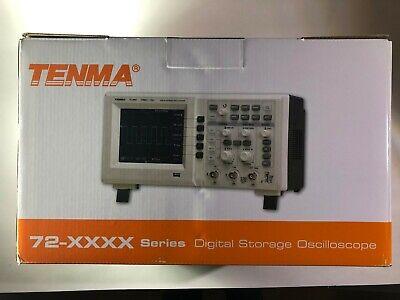 Tenma 72-8710a 100mhz 2 Channel Digital Oscilloscope
