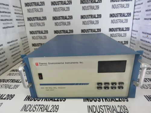 THERMO ENVIROMENTAL 42C NO-NO2-NOX ANALYZER HIGH LEVEL USED