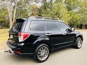 2009 Subaru Forester XT Wagon AWD Turbo Black Extras!!! Moorebank Liverpool Area Preview