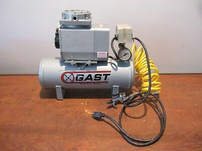 Gast Air Compressor Doa-p106-aa Vacuum Pump Oil-less Gast Air Tank Compressor