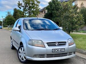 2007 Holden Barina TK 4 Speed Automatic Hatchback Low Kms Log Books