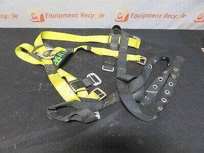 Miller Honeywell Safety Full Body Harness 850-4 400lbs 4-20-15