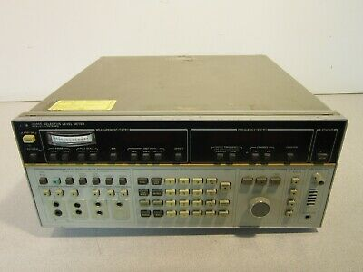 Hp 3586b Selective Level Meter With Options 003 004
