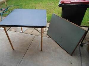 2 foldup card tables $15 for both Mitchell Park Marion Area Preview