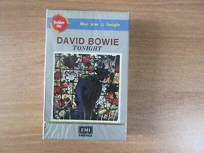 David Bowie - Tonight 1984 Korea Cassette Tape SEALED NEW RARE COVER