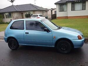 1998 Toyota Starlet Hatchback. Pink slip. Female Driver. Beresfield Newcastle Area Preview