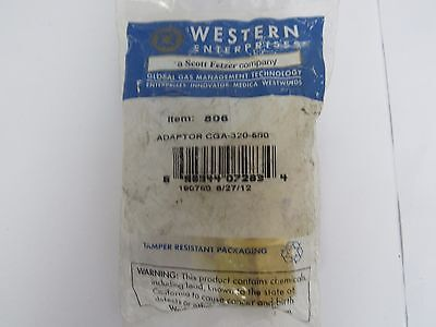 Western Enterprise Item806 Adaptor Cga-320-580