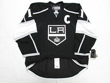 "KOPITAR LOS ANGELES KINGS AUTHENTIC HOME REEBOK EDGE 2.0 7287 JERSEY WITH ""C"""
