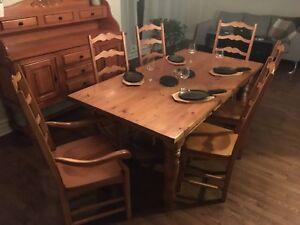 Table de cuisine 6 personnes