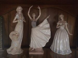 3 ADELINE PORCELLANA FINE FIGURINES