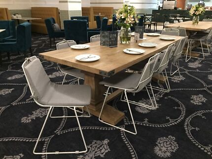 Timber cafe table for sale  - buy direct and save $$$