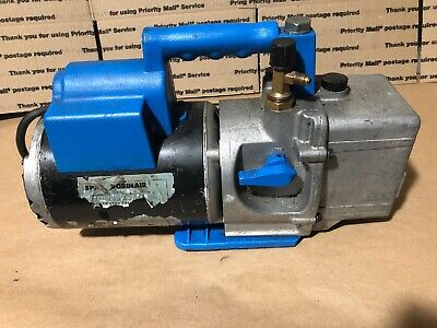 Spx Robinair 15401 Cooltech Two Stage High Performance Vacuum Pump 13 Hp