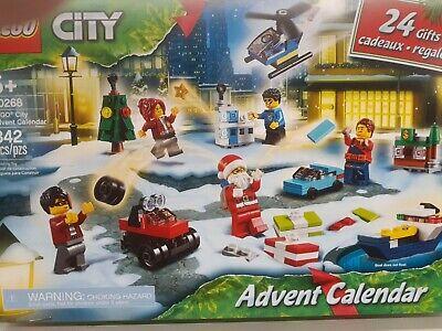 LEGO CITY 60268 Christmas Advent Calendar MINIFIGURES 24 Gifts 2020 NEW