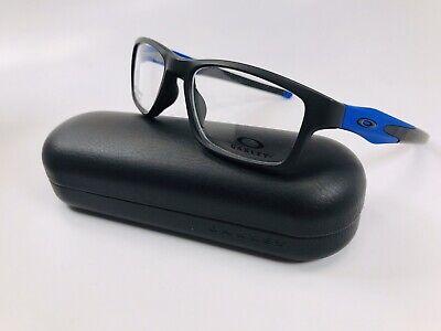 🔹NEW Oakley OX8090-0953 Satin Black CROSSLINK Eyeglasses 53mm with Oakley Case